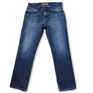 TOMMY HILFIGER   Straight Dark Jeans 33x30